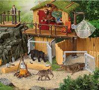 Дикие животные, серия Производителя Schleich-S